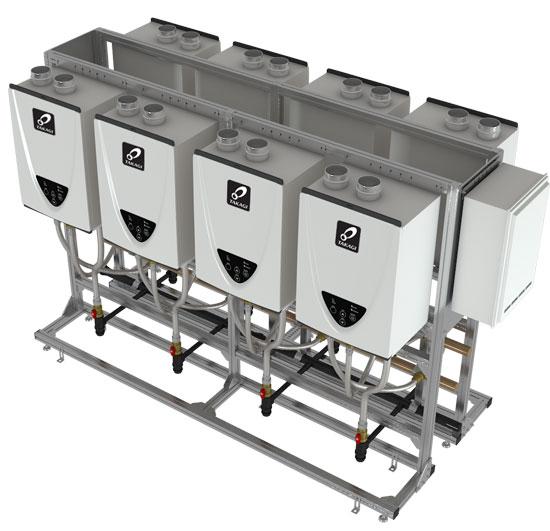 Takagi Tankless Heater Rack