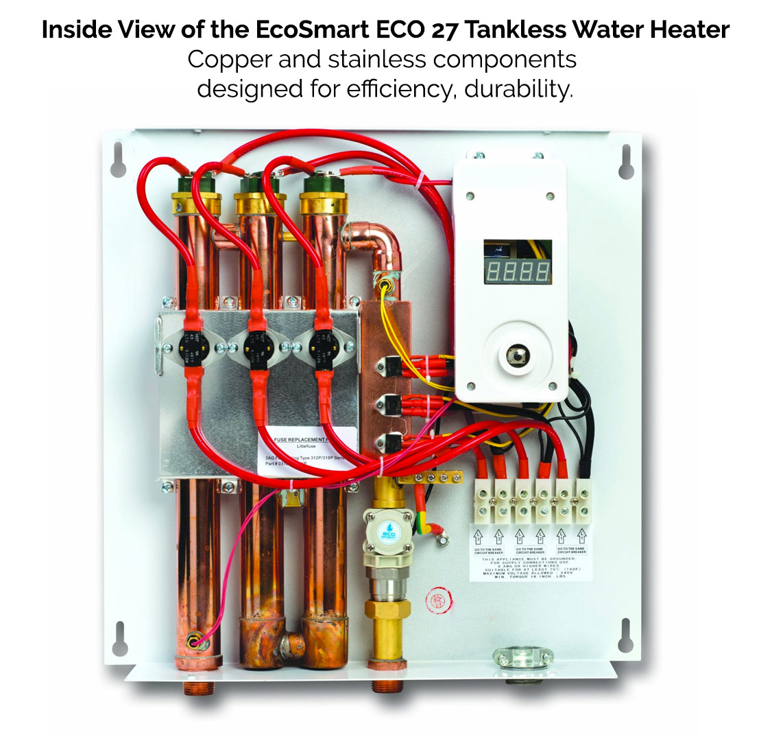 Ecosmart Tankless Water Heaters Reviews And Information